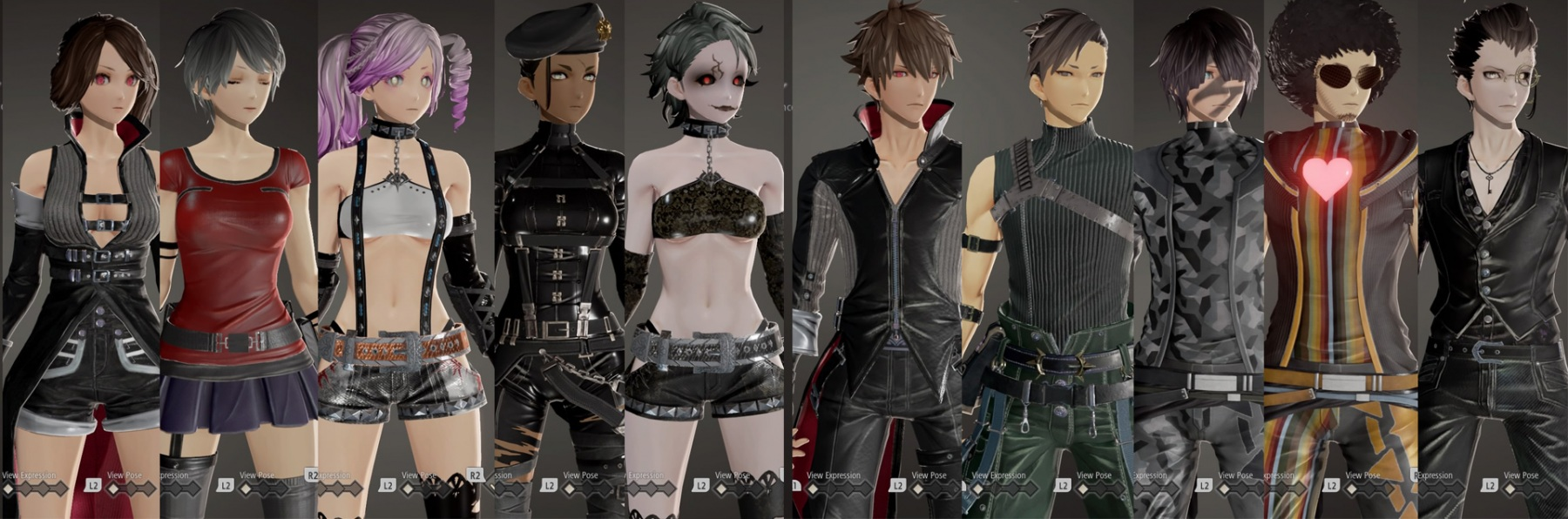 CODE-VEIN_all_characters