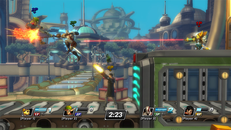 PlayStation All-Stars Battle Royale Fight