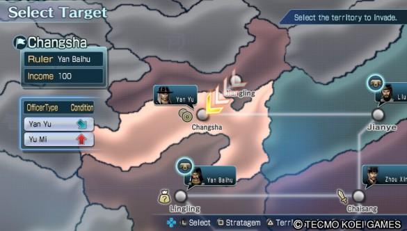 Dynasty Warriors Next Vita Territories