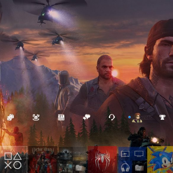 Days Gone Custom PS4 Theme