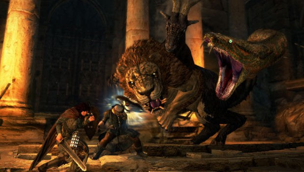 Dragon's Dogma Chimera Fight