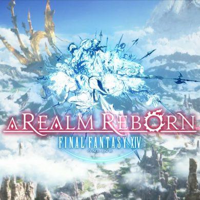 FFXIV A Realm Reborn Title Screen