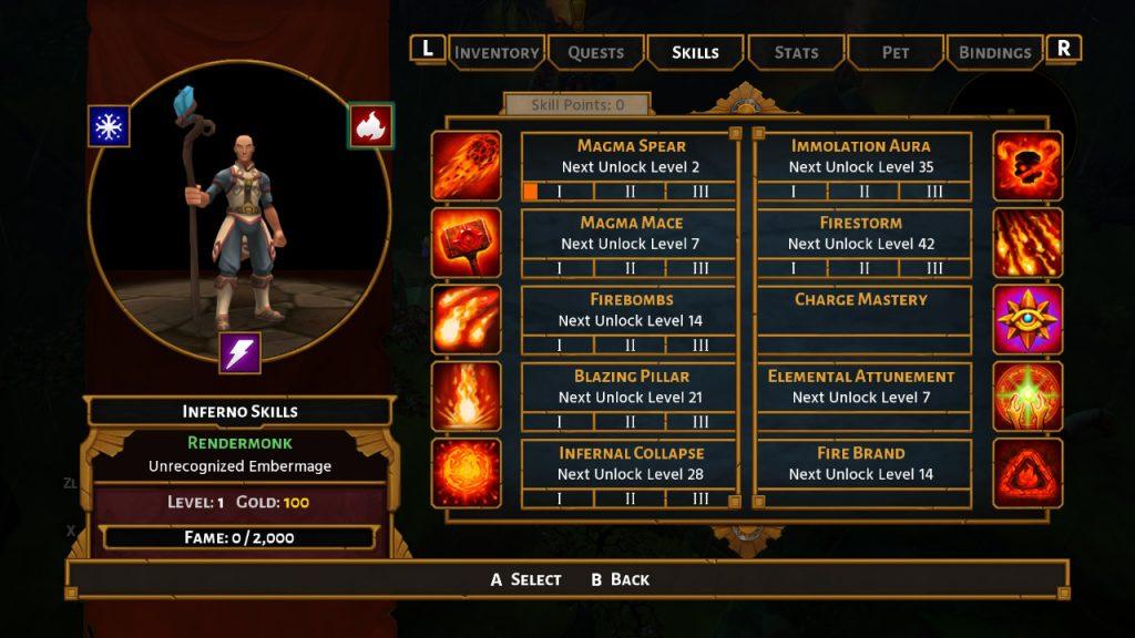 Torchlight II Skills Tree