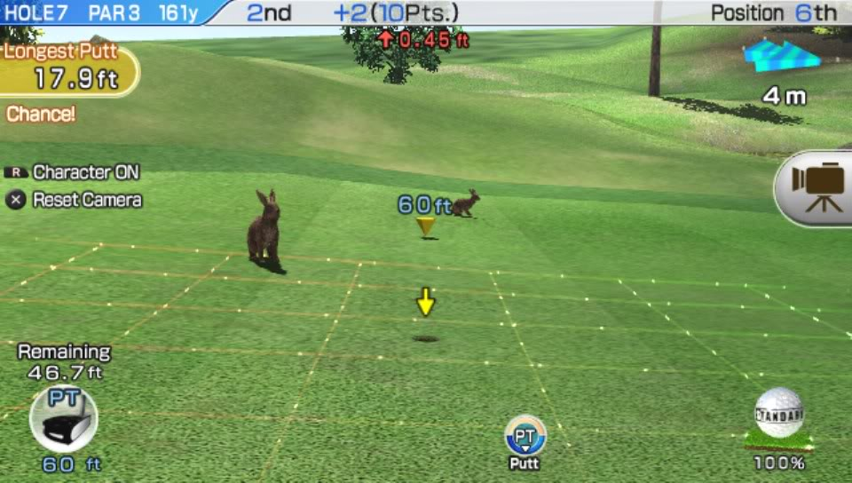 Hot Shots Golf: World Invitational Putting