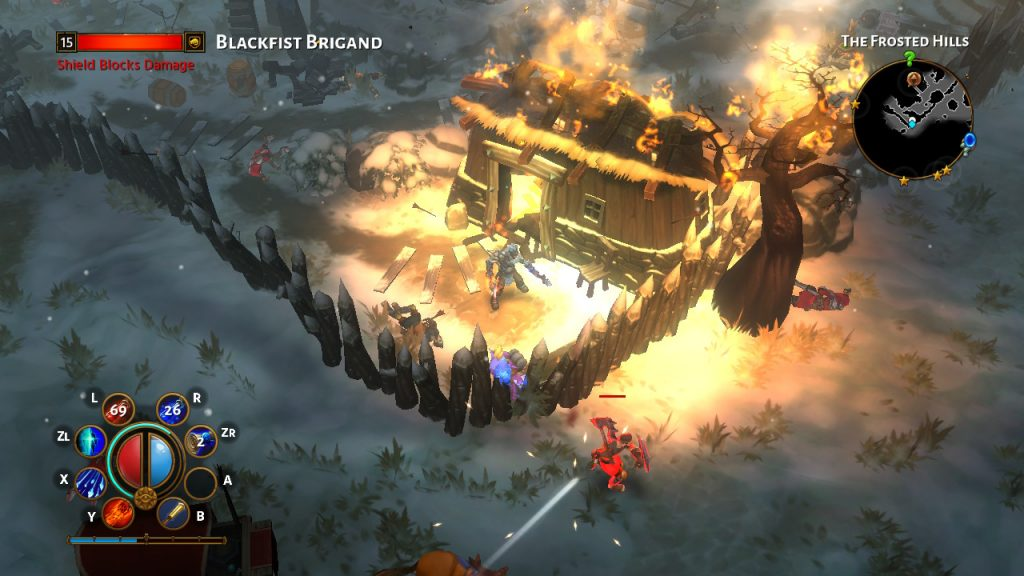 Torchlight II House on Fire