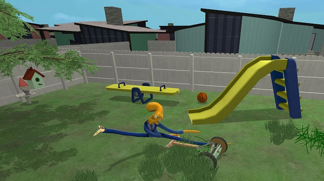 Octodad Mowing