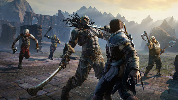 Shadow of Mordor Orc Fight