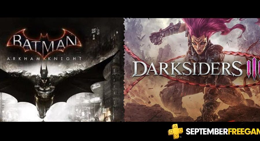 PS Plus September 2019 Free Games