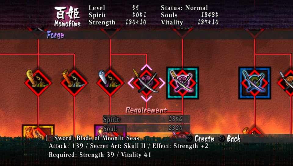 Muramasa Rebirth Sword Forge