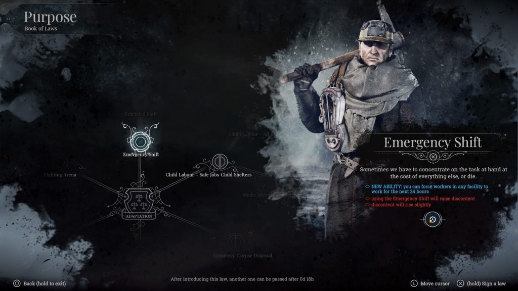 Frostpunk: Console Edition Book of Laws
