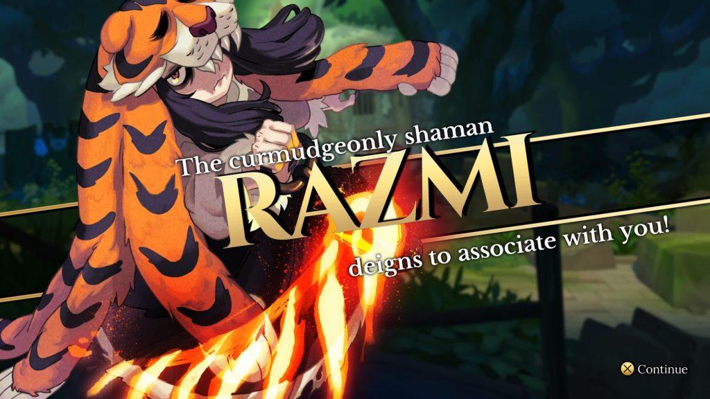 Indivisible Razmi Character