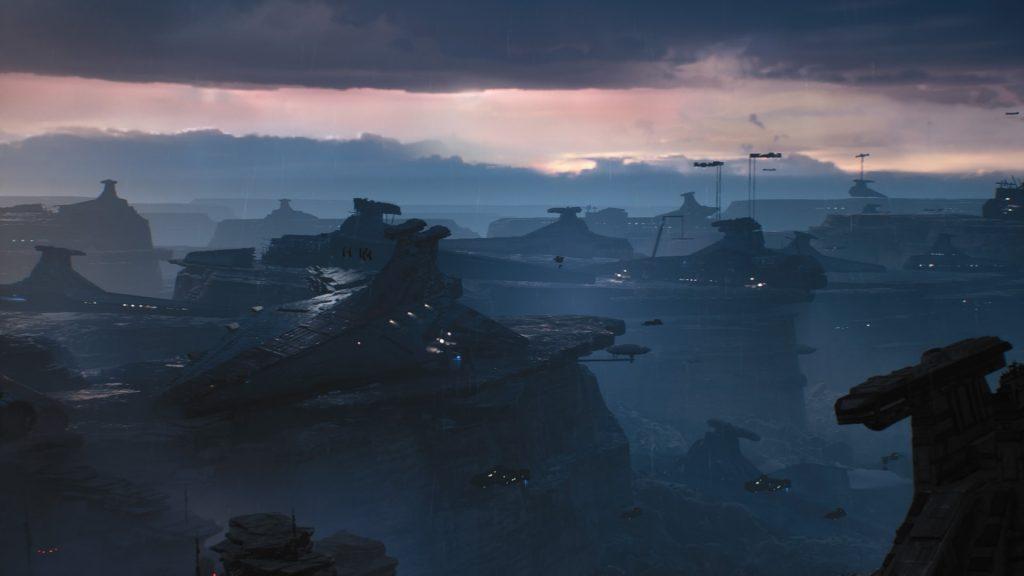 Star Wars Jedi: Fallen Order ships