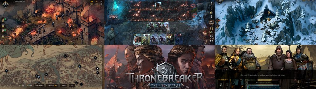 Thronebreaker: The Witcher Tales PS4