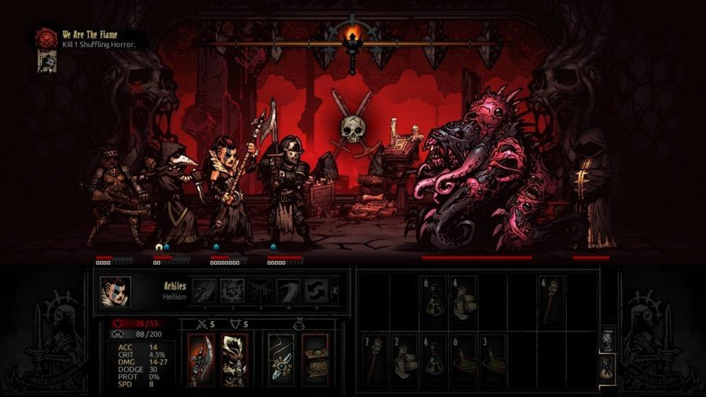 Darkest Dungeon Combat
