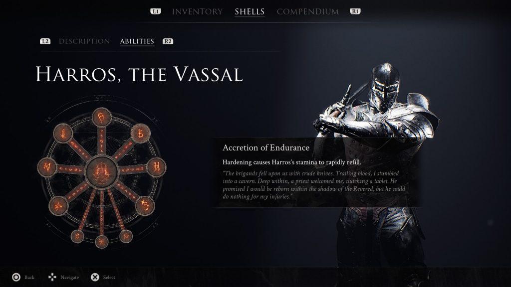 Mortal Shell Harros, The Vassal