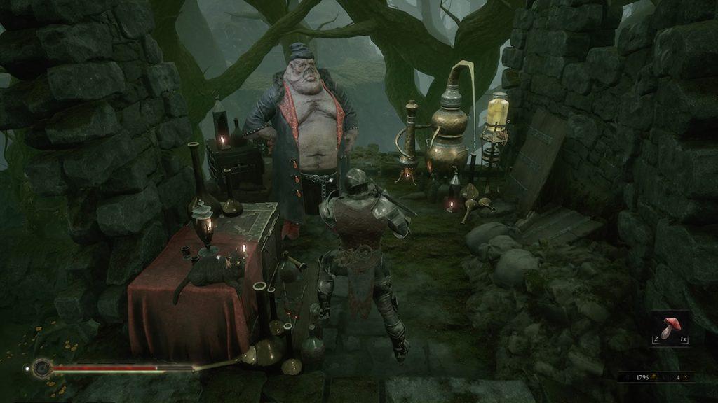 Mortal Shell Vlas the merchant