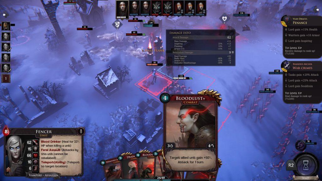 Immortal Realms: Vampire Wars Battle