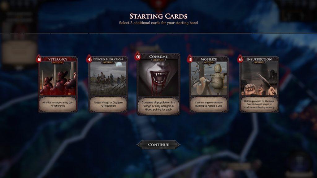 Immortal Realms: Vampire Wars Cards