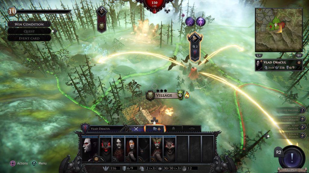 Immortal Realms: Vampire Wars Main Map