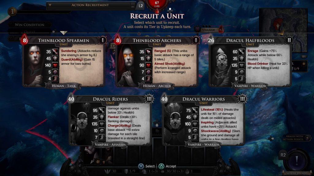 Immortal Realms: Vampire Wars Recruit Unit