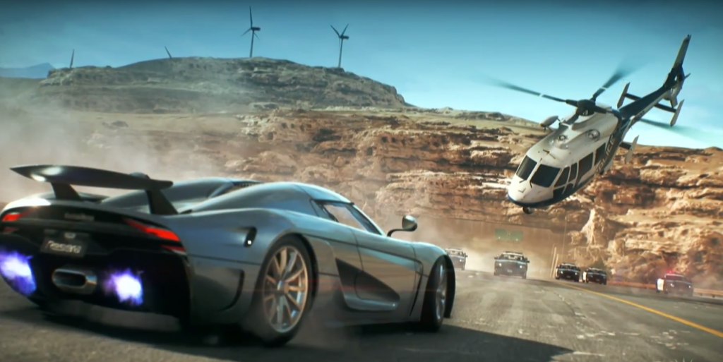 PS Plus October 2020 Free Games Need for Speed: Payback